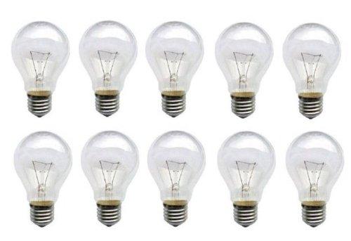 Standard 27 (10 x Glühbirne 40W E27 Glühlampe Glühbirnen E 27 klar Qualitätsprodukt)