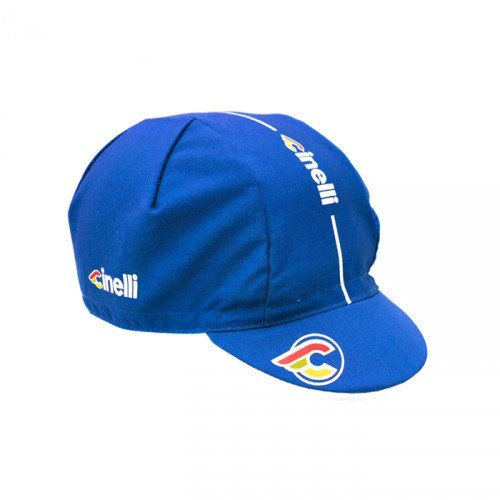 Cinelli Erwachsene Supercorsa Mütze, Blau, One Size, 46157170714
