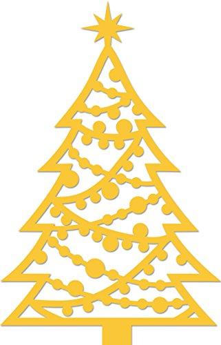 Kaisercraft verziert Weihnachtsbaum Dekorative sterben, grau