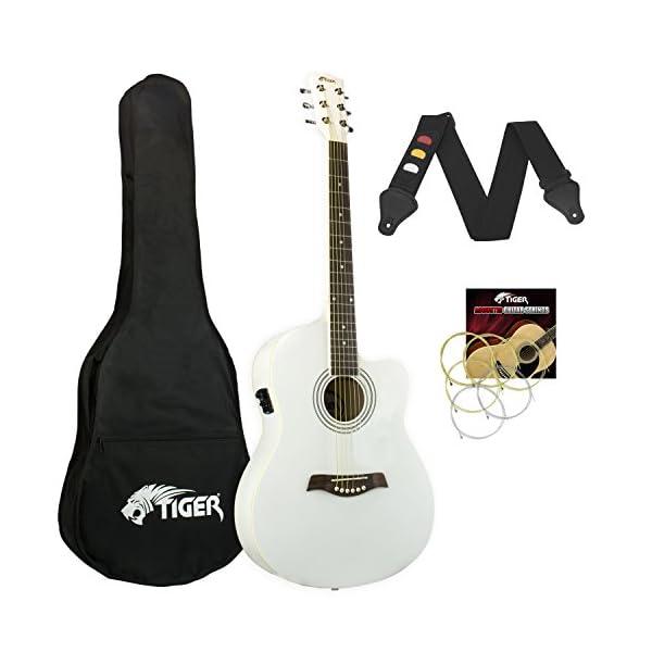 Tiger-Chitarra elettroacustica confezione