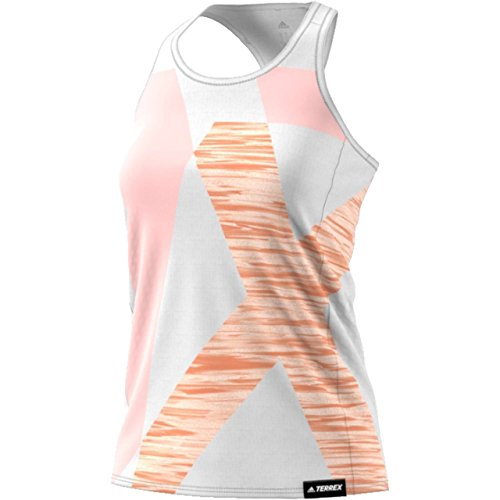 adidas Damen W Logo Top Shirt, Weiß-(Blanco), 42 Preisvergleich