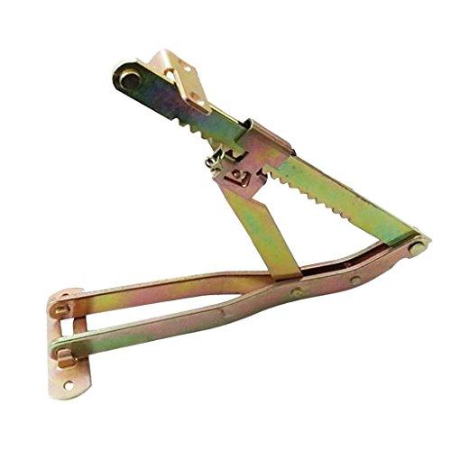 Almencla Sofa Bett Kopfstütze Einstellbarer Winkel Scharnier Home DIY Hardware - 19-Position