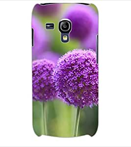 ColourCraft Lovely Flower Design Back Case Cover for SAMSUNG GALAXY S3 MINI I8190