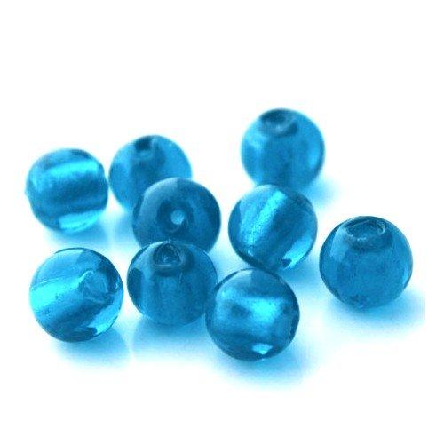 paquet-20-x-bleu-verre-dejouer-8mm-perles-rond-y05990-charming-beads