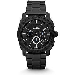 Fossil Analog Black Dial Men's Watch - FS4552