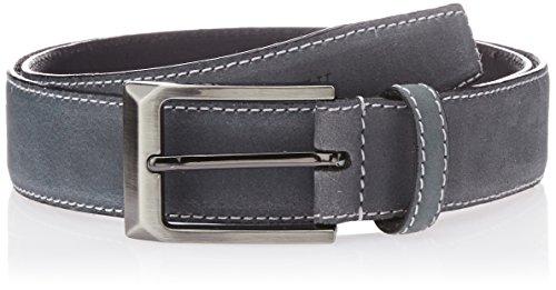 Van Heusen Men's Leather Belt (8907445284175_Medium_Navy)