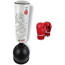 Gallant Free Standing Boxing 5.5ft Punch Bag Stand Heavy Duty MMA Martial Arts Sparing Set