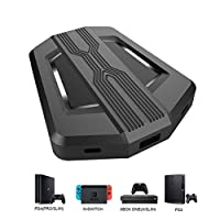 DUTISON Keyboard and Mouse Adapter Compatible with PS4 Xbox One Nintendo Switch PS3 Xbox 360