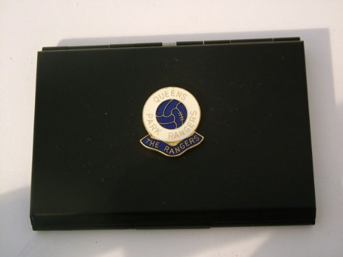 Queens Park Rangers Football Club Visitenkartenetui schwarz