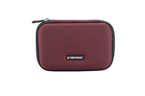 Neopack HDD Hard Case /Cover /Pouch with Shockproof Lining for 2.5 inch Portable Hard Drive - Red (For Seagate, Toshiba, WD, Sony, Transcend)  available at amazon for Rs.349