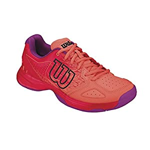 WILSON Unisex-Kinder KAOS Comp Jr Radiant.r/Coral Punc/Pk Tennisschuhe