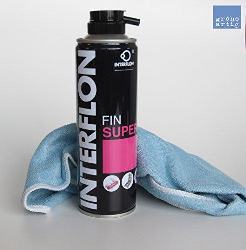 Preisvergleich Produktbild grohsartig | Interflon Teflon Trockenschmierspay Fin Super 300 ml inkl. Reinigungstuch