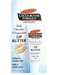 Palmer's Baume Scintillant pour les Lèvres Chocolat Noir et Menthe Poivrée 10 g