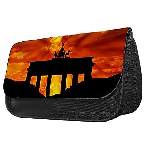 Brandenburg Gate Berlin Pencil Case / Make up bag