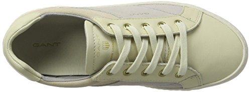 Gant - Alice, Pantofole Donna Mehrfarbig (cream/Multi)