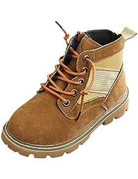 Lenfesh Kinder Martin Stiefel Baby Jungen Mädchen Mode Beiläufig Sneaker Schuhe