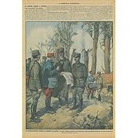 Il Generalissimo Joffre al fronte italiano. Il capo supremo dell'esercito francese visita col nostro Comando (Capo Supremo)