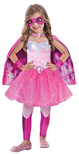 Barbie Super-Powerprinzessin Kostüm für Mädchen - 3 bis 5 Jahre