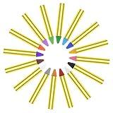 SUPVOX 16 Stück Kinderwachs Buntstifte Safe ungiftig Gesicht Körperbemalung Wachsmalstifte Bleistifte Pen Kit