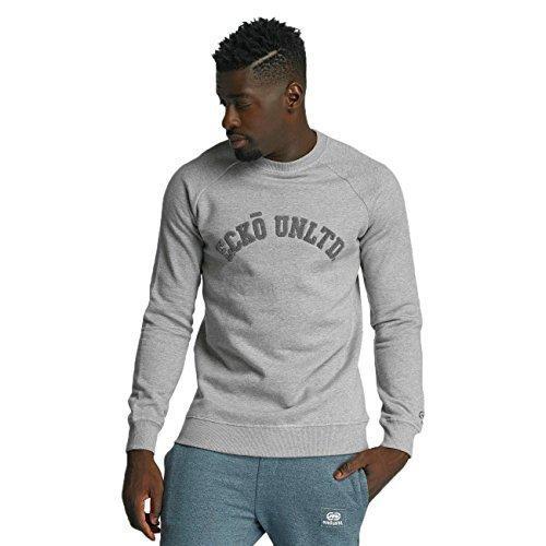 Ecko Unltd. Dagoba Melange Sweatshirt Grey Melange grau L (Marc Ecko Pullover)