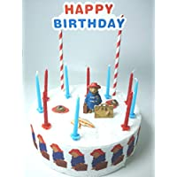 Paddington Birthday Cake Decoration Set