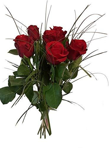 Blumenstrauß zum Geburtstag - rote Rosen - 1A Qualität- Blumenstrauß mit Express Lieferung
