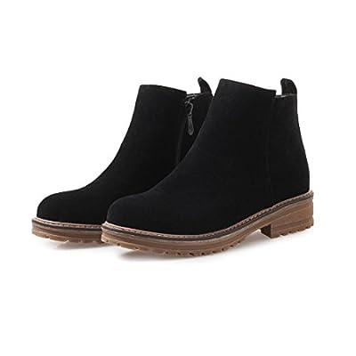 Sandalette-DEDE Angenehm Niedrigen Absatz Stiefeln und groß Frauen Stiefel Runde Kopf u - Boots. von Sandalette-DEDE - Outdoor Shop