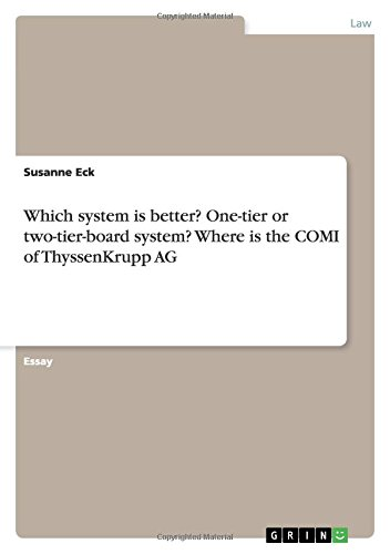 which-system-is-better-one-tier-or-two-tier-board-system-where-is-the-comi-of-thyssenkrupp-ag