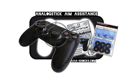 """AAA-Shocks (Analogstick Aim Assistance Stossdämpfer Zielhilfe für FPS Spiele): Veteranen Edition ECO ProBro \""""Dark Matter\"""" PlayStation 4"""