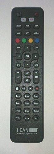 Usato, TELECOMANDO ORIGINALE I-CAN TIVU' SAT 1110 SV SNOW usato  Spedito ovunque in Italia