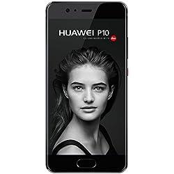 Huawei P10 Smartphone, Mono SIM, 64 GB, Nero