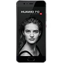 Huawei P10 Smartphone (12,95 cm (5,1 Zoll) Touch-Display, 64 GB Interner Speicher, Android 7.0,  EMUI 5.1) Graphite Black