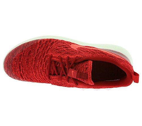 Nike Donna Wmns Roshe One Flyknit scarpe sportive Rosso (Rojo (Gym Red / Brght Crimson-Tm Rd-Sl))