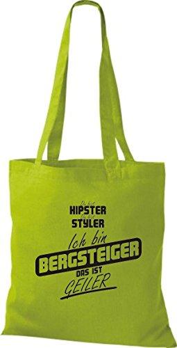 Borsa Di Stoffa Shirtstown Sei Hipster Sei Stiler Sono Scalatore Che È Kiwi Cornea
