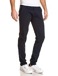 BLZ jeans - Pantalon homme chino bleu navy