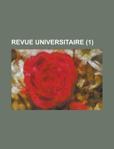 Revue Universitaire (1)