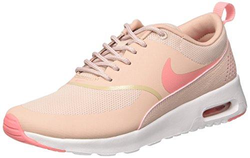 Nike Air Max Thea 599409 Damen Laufschuhe, Pink (Pink Oxford/brt Melon-white), 37.5 (2015 Nike-schuhe Neue Frauen)