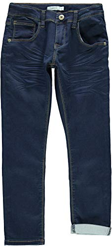 NAME IT Jungen Jeans NKMROBIN DNMTHAYER 3157 SWE Pant NOOS, Blau (Dark Blue Denim), (Herstellergröße:146)