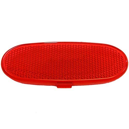 Yilong Haustür-Innenverkleidung Trim Reflektor Rot Ersatz für Dodge Ram 1500 2500 3500 5179299AA -