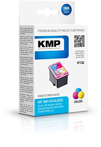 KMP Tintenkartusche für HP Deskjet D2560, H134, color