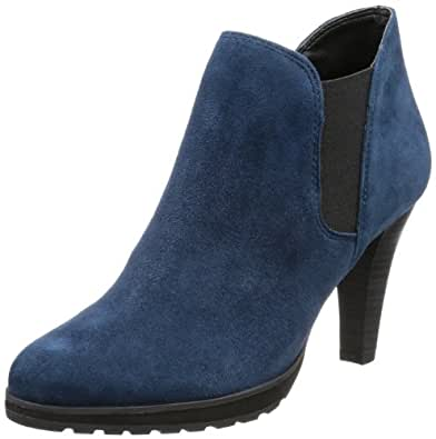 Caprice Henny-B-10-8 9-9-25340-21 305 9-9-25340-21, Damen Stiefel, Blau (BLUE SUEDE), EU 40.5