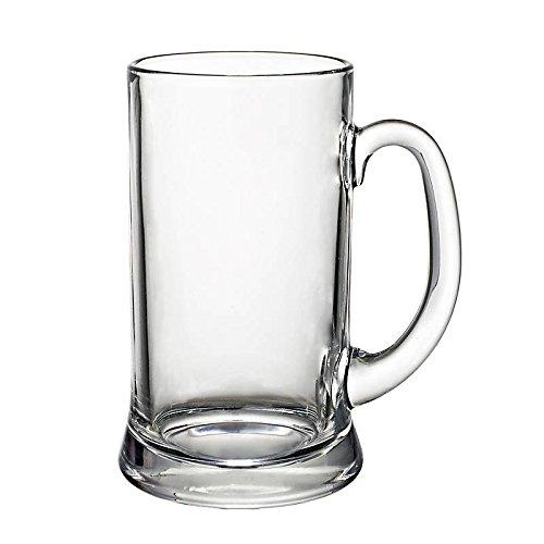 Bierglas Bierseidel Pilsglas Münster 1,0 Liter H 20 cm Glas - 1 Liter Glas