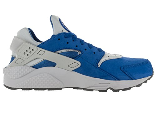 Nike Air Huarache, Baskets Basses Homme Multicolore - Bleu / Gris (Varsity Royal / Wolf Grey-Cl Gry)