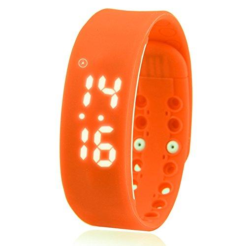 Smartmovement Electronic Wrist Stylish Trend Child Student Lcd Screen Wrist B