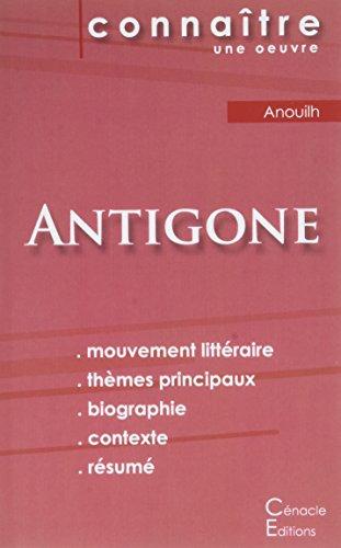 Fiche de lecture Antigone de Jean Anouilh (Analyse littraire de rfrence et rsum complet)