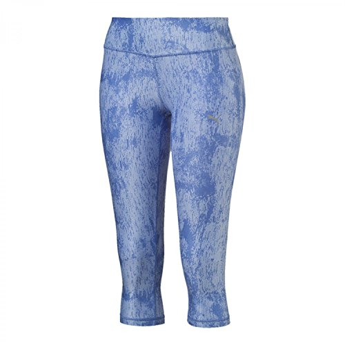 Puma All Eyes on Me 3/4 Pantalone Sportivo wedgewood-brunnera blue