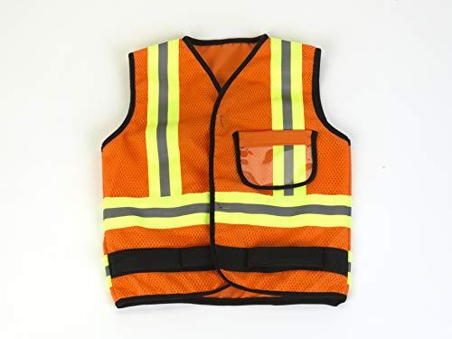 Theo Klein Construction Team Robbie y Budy Chaqueta De Construcción, color amarillo, única (8142)