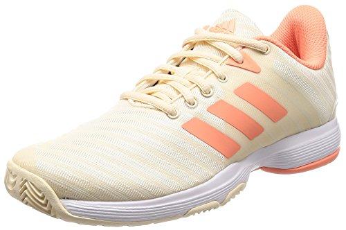 Adidas Barricade Court w, Zapatillas de Tenis para Mujer, (Tincru/Cortiz/Ftwbla 000), 40 2/3 EU