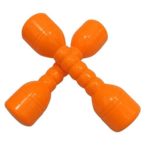 Preisvergleich Produktbild hou zhi liang Neopren Hand Hanteln für Kinder Gewichte Fitness Home Gym Übung Barbell Kinder Fitness Sport Spielzeug (Orange) 2