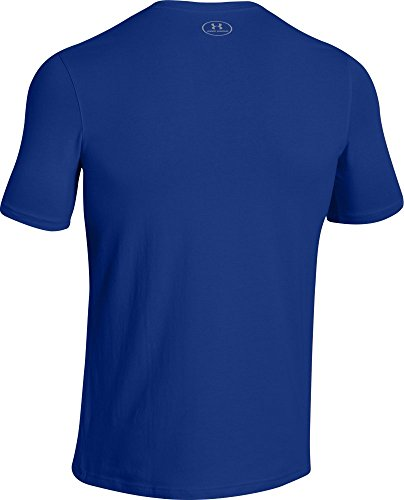 Under Armour Herren Fitness Cc Left Chest Lockup Kurzarm T-Shirt,  (), 0 Royal /  / Steel
